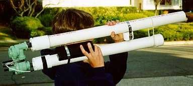 P A C 2 Bazooka Air Cannon Plans