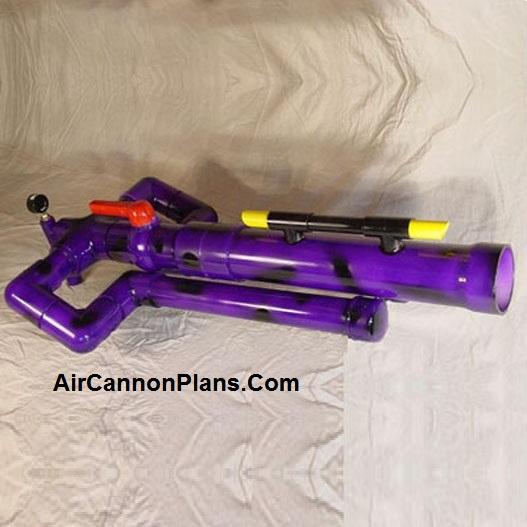 Toilet Paper Magnum Air Cannon Plans