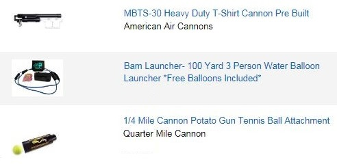 Air Cannons For Sale